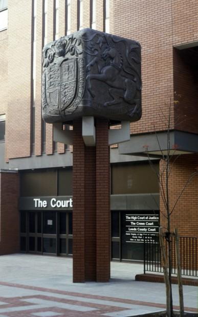 Leeds Crown Court Bronze Cube