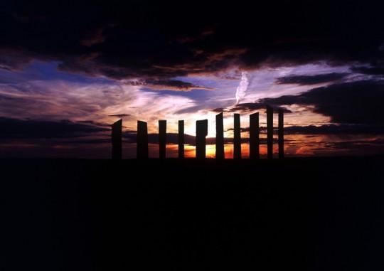 Millennium Stones sunset