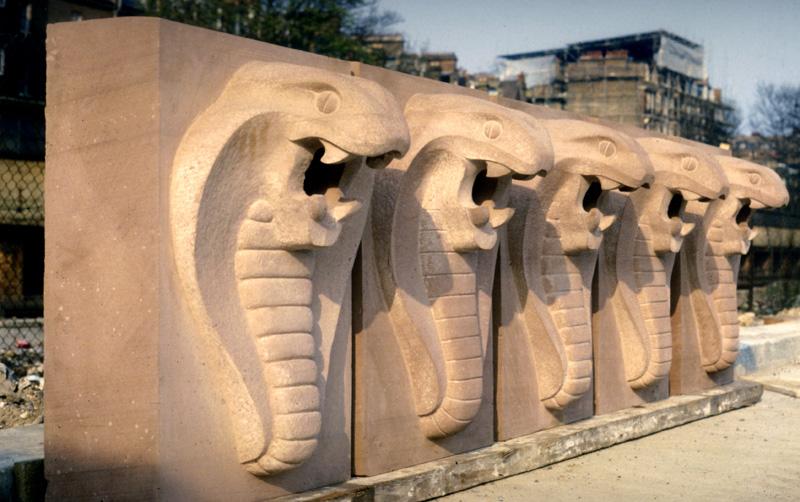 Sandstone gargoyles richard kindersley studio
